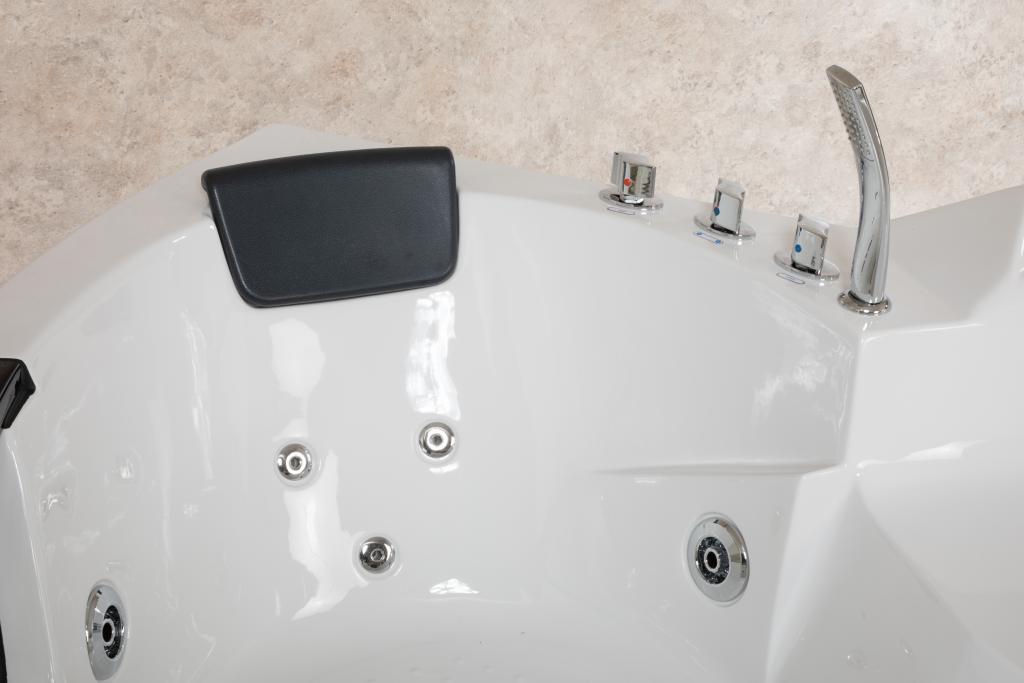 Easylife Vasca Da Bagno Prezzi : Vasca idromassaggio easy life cm angolare con cromoterapia