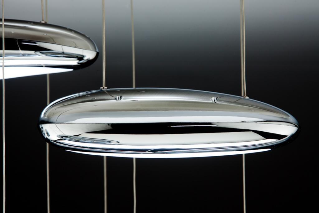 Lampadario a Led Drop Design 10B luce fredda da Soggiorno ...