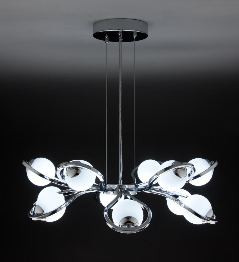 Lampadario a Sospensione Led Flower 12 di Design Moderno