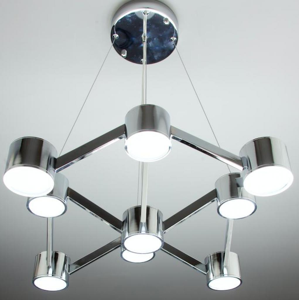 Negozi Lampadari Caserta E Provincia lampadario a sospensione led mech 9 di design moderno cod