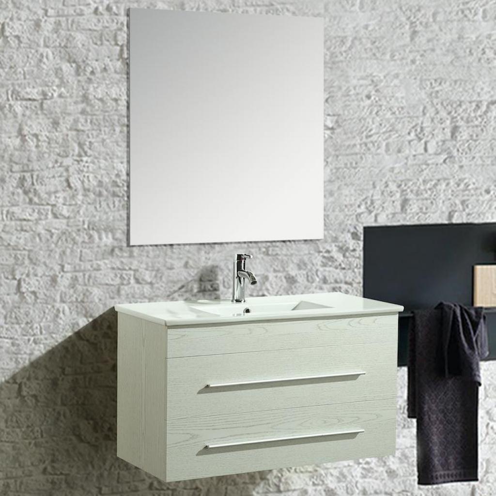 Quadri Per Bagno Moderno mobile arredo bagno angy 90 cm sospeso moderno bianco cod