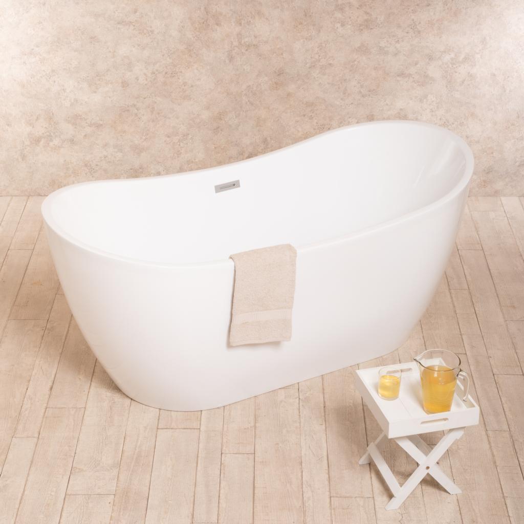 Vasca Da Bagno Freestanding Soft Design 170x80cm Cod 00001162