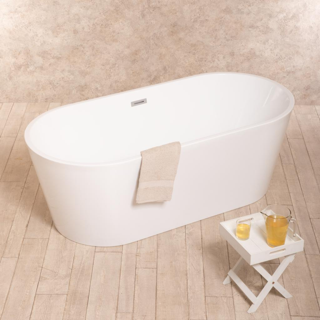 Mobili Bagno Freestanding : Vasca da bagno freestanding fantasy design cm