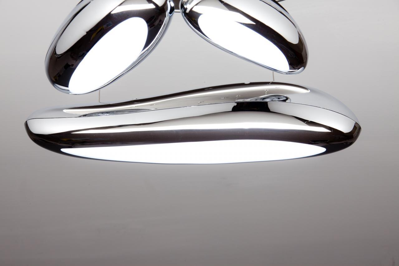 Lampadario da salotto a led drop design b luce fredda moderno cod