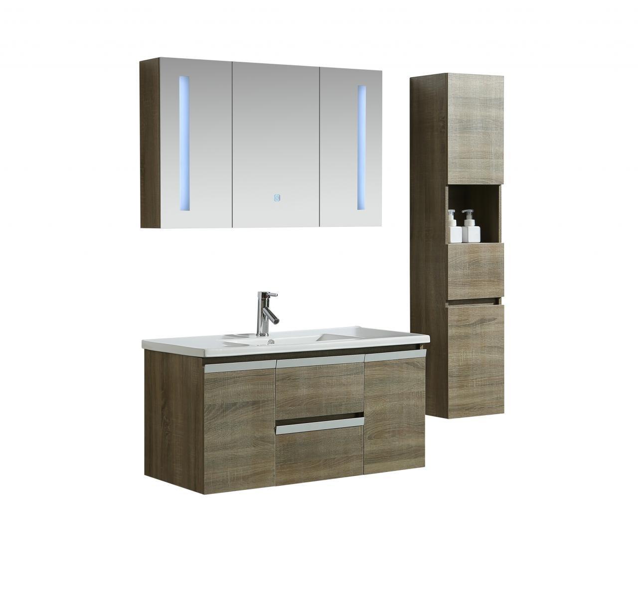 Mobile arredo bagno venice 100 cm spazioso colonna for Arredo bagno mestre