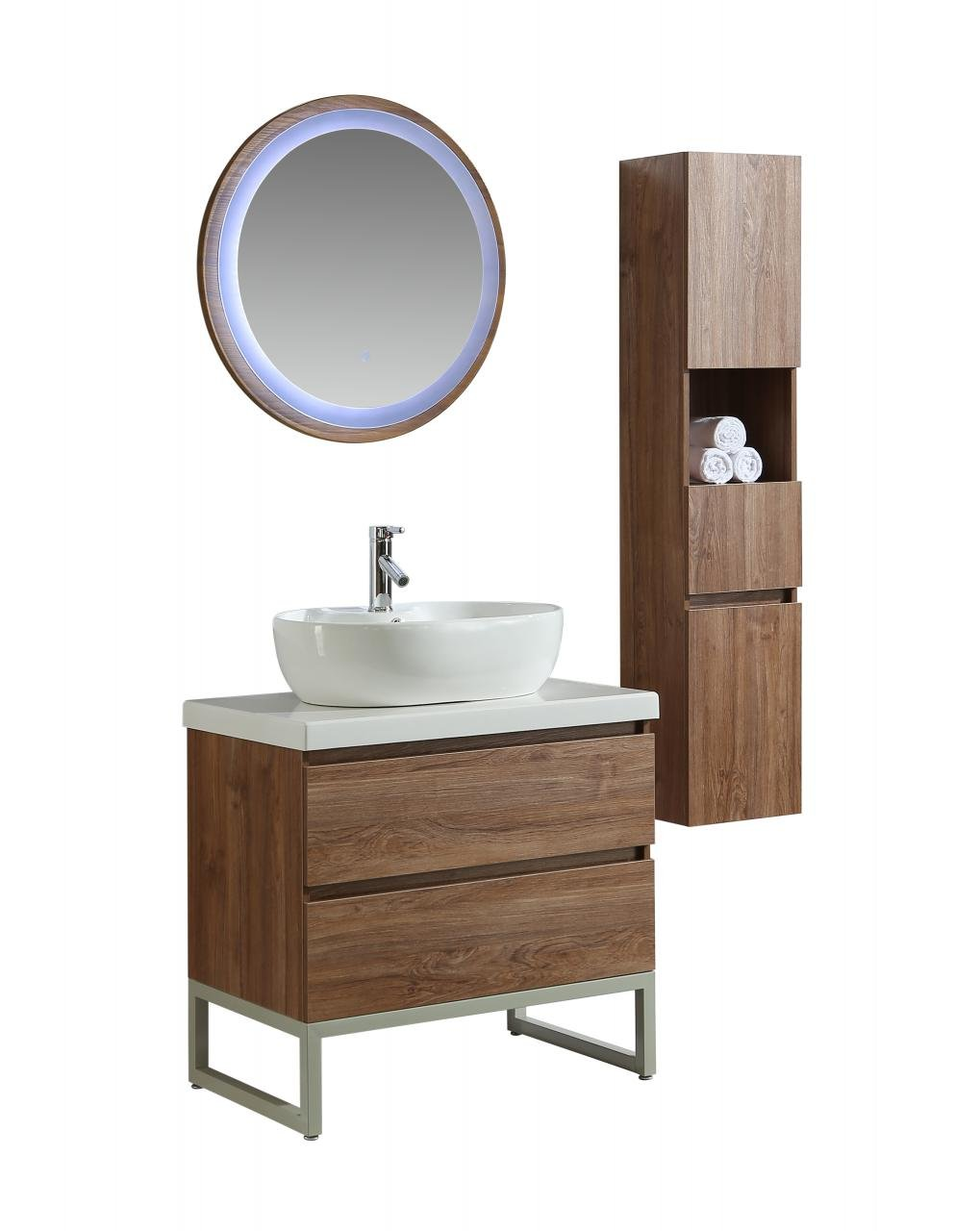 Mobile arredo bagno paris 90 cm moderno colonna arredo for Arredo bagno colonna