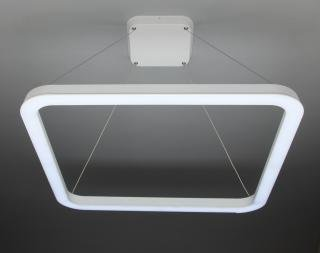 Lampadario a Sospensione Led Big Square Design per Salotto Moderno