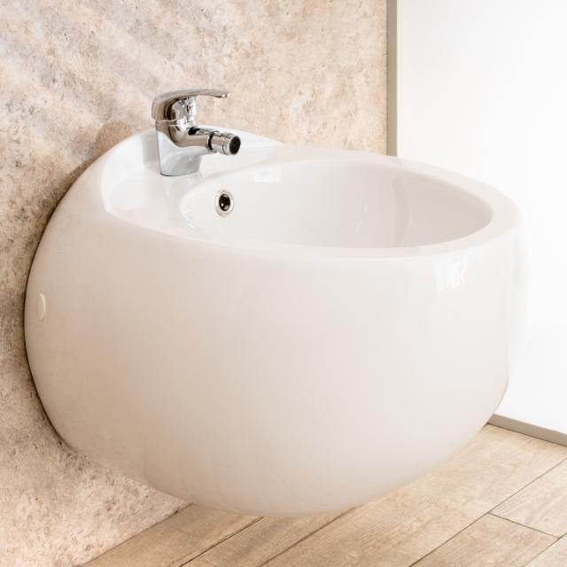 Bidet Sospeso Wind in ceramica di Design L39xP58xA36cm