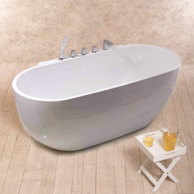 Vasca vasche vasca centro stanza vasca freestanding vasche freestanding prezzi da 499 - Vasche da bagno centro stanza ...